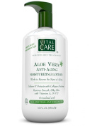 Aloe Vera Anti Ageing Moisturising Lotion by Vital Care, Softens and Protects with Collagen Proteins, Restores Smooth, Silky Skin with Vitamins A, D & E, Formulated with Age Defying Antioxidants for Enriched Skin Treatments, 950ml