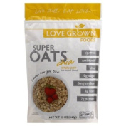 Love Grown Foods Cereal, Super Oats, Simply Pure