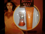 BEYONCE HEAT RUSH Eau de Toilette 15ml & Shimmering Body Cream