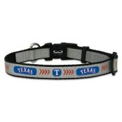 MLB Texas Rangers Baseball Pet Collar, Small, Reflective