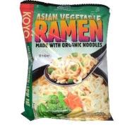 KOYO Reduced Sodium Asian Vegetable Ramen Made with Organic Noodles, 60ml