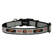 MLB Baltimore Orioles Baseball Pet Collar, Reflective