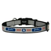 MLB New York Yankees Baseball Pet Collar, Toy, Reflective