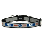 MLB Tampa Bay Rays Baseball Pet Collar, Reflective