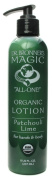Dr. Bronner's Sun Dog's Organic Lotion Patchouli Lime -- 240ml
