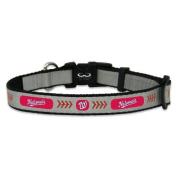 MLB Washington Nationals Baseball Pet Collar, Reflective