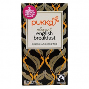 Pukka Herbs - Organic Whole Leaf Tea Elegant English Breakfast - 20 Tea Bags