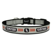 MLB Chicago White Sox Baseball Pet Collar, Reflective