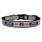 MLB Cleveland Indians Baseball Pet Collar, Reflective