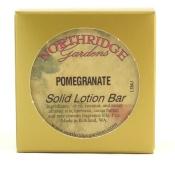 Northridge Gardens Pomegranate Solid Lotion Bar 30ml