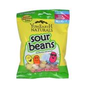 Yummy Earth Naturals Sour Beans Gluten Free -- 70ml