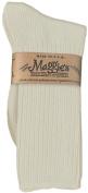 Maggie's Organics, Sock, Og, Crw, Cotn, Natural, 3/pair