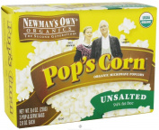 Newman's Own Organics Microwave No Butter, No Salt Pop's Corn