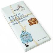 Nirvana Chocolates Belgian Caramel Sea Salt 72%