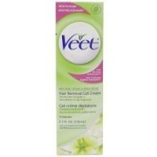 Veet Hair Removal Gel Cream - for Dry Skin - with Aloe 150ml