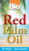 Bio Nutrition Red Palm Oil Softgels, 90 Count