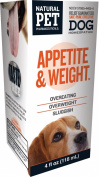 Natural Pet Pharmaceuticals by King Bio Appetite and Weight Control for Dog, 120ml