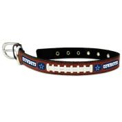Dallas Cowboys Football Lace Dog Collar