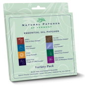 Natural Patches of Vermont - Aromatherapy Body Patch Essential Oil Blend Variety Pack - 8 Patch(es) Formerly Naturopatch
