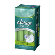 Always Pads, Ultra Thin, Flexi-Wings, Long, Super 32 pads