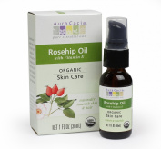 Aura Cacia Organic Skin Care Oil, Rosehip, 1 Fluid Ounce