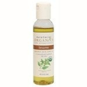 Aura Cacia Sesame, Skin Care Oil, ORGANIC, 120ml bottle