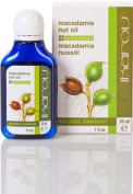 Macadamia Nut Oil 30ml / 1 Fl. Oz. 100 % Rure Natural Product - IKAROV