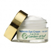 Garden of Eve Replenish Eye Cream - No Scent (Unscented, Fragrance Free, Pregnancy Safe, Sensiitive, Anti-ageing, Hydrating)(Certified Organic Ingredients) .150ml