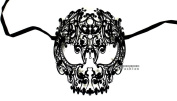 Devil Skull Laser Cut Venetian Masquerade Mask Event Party Ball Mardi Gars