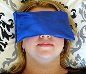Karmick Eye Mask Pillow - Hot / Cold Lavender Pillow Mask - Natural Pain Relief with Lifetime Guarantee - Helps with Stress, Relaxation, Sleep, Puffy Eyes, Dark Circles, Dry Eyes, Migraine, Sinus Pain, and Anxiety. Cool for Meditation and Yoga - Travel ..