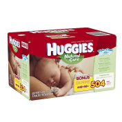 Huggies Natural Care Baby Wipes - 504 Count