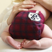 gDiapers gPants Medium Grad Plaid