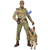 KA 5.1cm  - 18cm  Scale Action Figure Series 2 Colonel Stars and Stripes Unhooded