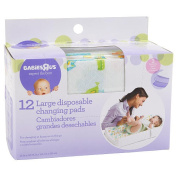 Babie R Us Large Disposable Changing Pads - 12 Pack