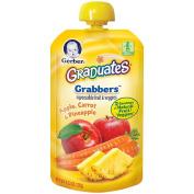 Gerber Graduates Grabbers Apple Carrot Pineapple
