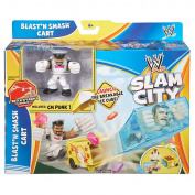 WWE Rumblers Slam City CM Punk Blast 'N Smash Cart Playset