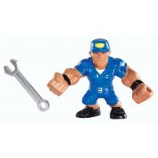 WWE Rumblers Slam City John Cena Launch 'N Crash Car Playset
