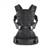 BabyBjorn Baby Carrier One Mesh Carrier - Black