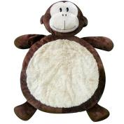 Bestever Monkey Baby Mat- Brown