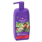 Aussie Kids 3-in-1 Melon Head Shampoo, Conditioner & Body Wash - 860ml