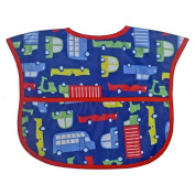 Bibsters Transportation Easy Clean Bib - Boy
