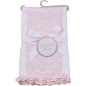 Koala Baby Boutique Girls Floral Single Burp Cloth