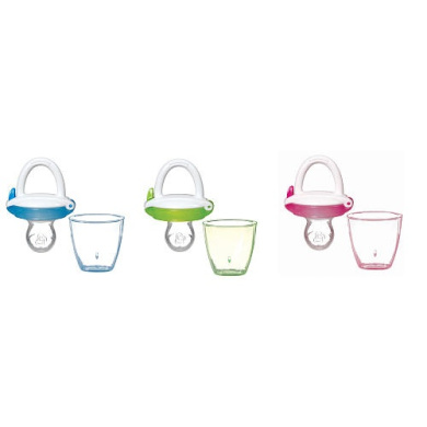 Munchkin Silicone Baby Food Feeder - Colours/Styles May Vary