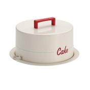 "Cake Boss Serveware Metal Cake Carrier - ""Cake"""