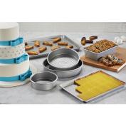 Cake Boss Professional Premium Nonstick Bakeware 6-Piece Set - Silver