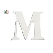Koala Baby Uppercase Wall Letter M - White