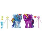 My Little Pony Princess Twilight Sparkle and Rainbow Dash Figures