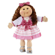 FAO Exclusive Cabbage Patch Doll 30th Anniversray 50cm  Collector Kid - Girl, Brunette, Brown Eyes