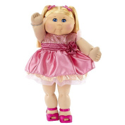 FAO Exclusive Cabbage Patch Doll 30th Anniversary 50cm  Collector Kid - Girl, Blond, Blue Eyes