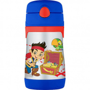 Thermos Jake & The Neverland Pirates Stainless Steel Straw Bottle- 300ml